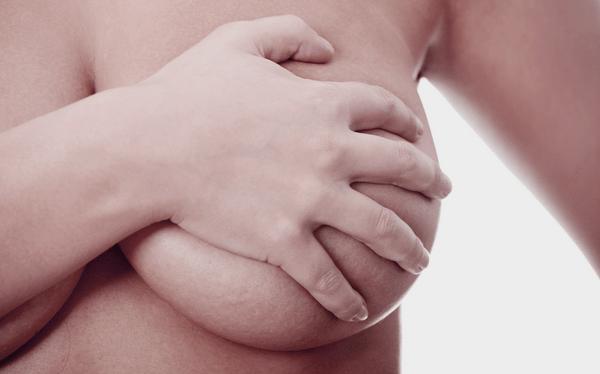 Кровоток в области молочных желез ускоряется