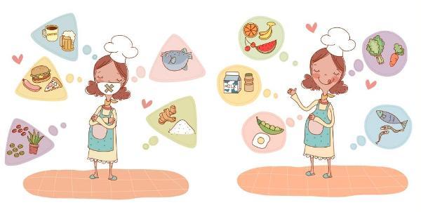 Питание беременной по триместрам